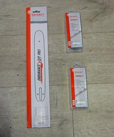 Angebote Farmersägen: Sägeketten + Schienen - STIHL AKTION 1 Schiene 35 cm + 2 Ketten p.f. STIHL 3/8' x 1,3 x 50E (Picco Micro) (Aktionsangebot!)