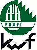 """Das Kuratorium für Waldarbeit und Forsttechnik e.V. vergibt das Prüfzeichen """"KWF-Profi"""" (früher """"KWF-Gebrauchswert"""") an forsttechnische Arbeitsmittel, die den hohen Ansprüchen der professionellen Waldarbeit hinsichtlich Wirtschaftlichkeit, Arbeitssicherheit, Ergonomie und Umweltverträglichkeit entsprechen. Wichtige Grundlage dafür sind intensive Praxiserprobungen bei professionellen Anwendern."""