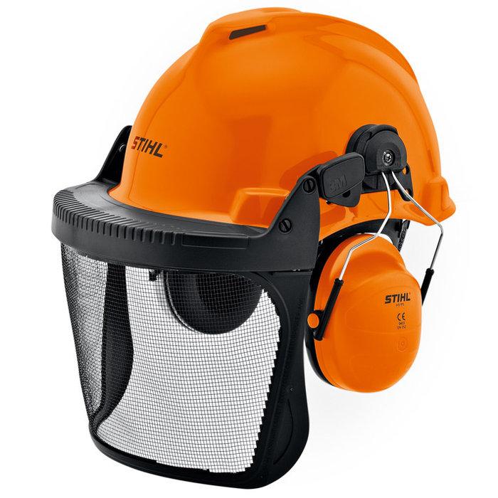 Schutzhelme:                     Stihl - STIHL Helmset SPECIAL - Mit Metallgitter und Blendschutz