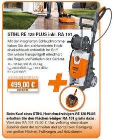 Kaltwasser-Hochdruckreiniger: Stihl - STIHL RE 128 PLUS inkl. RA 101