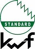 """Das neue Prüfzeichen """"KWF-Standard"""" wird für Produkte vergeben, die ebenfalls den anspruchsvollen Praxiserprobungen unterzogen worden, aufgrund ihrer Konzeption jedoch eher für den nicht forstlichen Einsatz, z.B. in der Landwirtschaft, im Landschaftsbau oder für Brennholzselbstwerber und Gelegenheitsnutzer geeignet sind."""