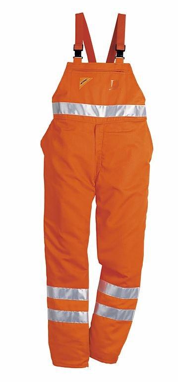Schutzhosen:                     Stihl - STIHL Schnitt- und Warnschutz-Latzhose, Warnorange - Bietet das Plus an Sicherheit