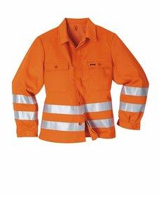 Schutzjacken: Stihl - STIHL Warnschutzjacke, Warnorange - Mehr Sicherheit durch Signalfarbe und Reflexstreifen