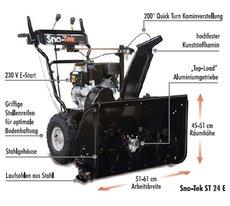 Schneefräsen: Sno-Tek - ST 24 E