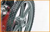 Speichenräder mit großem Durchmesser und Kugellager