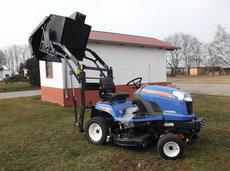 Gartentraktoren: Iseki - SXG 323 HL inkl. Mähwerk und Hochentleerung