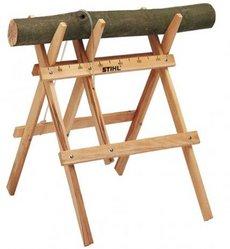 Zubehör: Stihl - Sägebock aus Holz