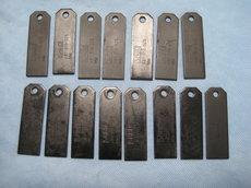 Ersatzteile: Sabo - Sabo SA30928 Vertikutiermesser für 36EV 44EV