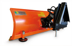 Bodenbearbeitungsmaschinen: Eco Tech - Schneepflug EP0-1 / 125cm + Kunsstoffschürfleiste & Hydr. Verstellung