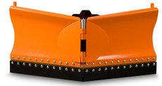 Bodenbearbeitungsmaschinen: Eco Tech - Schneepflug EPV-3 / 156cm + Gummischürfleist & Hydr. Verstellung