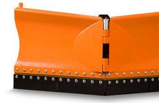 Bodenbearbeitungsmaschinen: Eco Tech - Schneepflug EPV-4 / 182cm + Gummischürfleiste & Hydr. Verstellung
