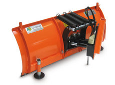 Bodenbearbeitungsmaschinen: Eco Tech - Schneepflug ES-2 / 140cm + Kunststoffleiste & Hydr. Verstellung