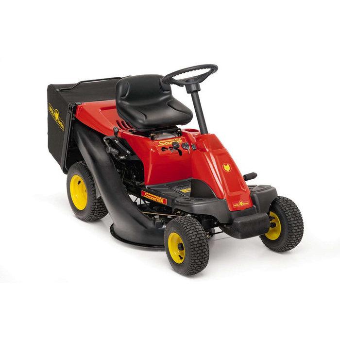 Gebrauchte                                          Aufsitzmäher:                     Wolf-Garten - Scooter (gebraucht)