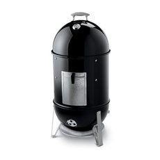 Barbecue-Grills: 						Weber-Grill - Smokey Mountain Cooker 47 cm Black  Art.-Nr.721004