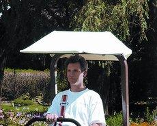 Zero-Turn Zubehör: Grasshopper - Sonnenschutz