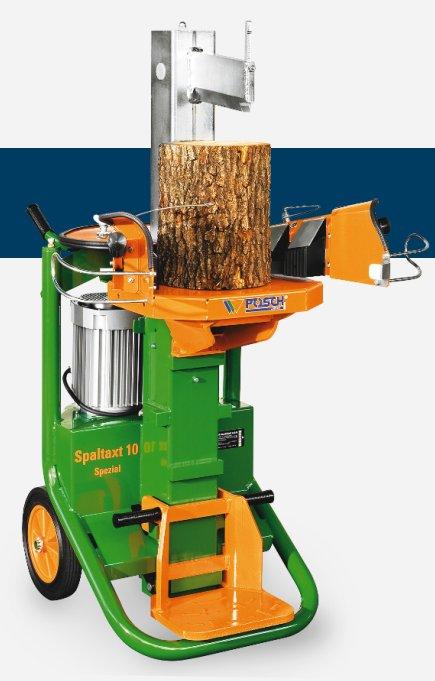 Holzspalter:                     Posch - SpaltAxt 10 Spezial  E3