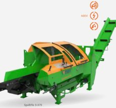 Holzspalter: Posch - SpaltFix S-375 D22D