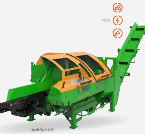 Holzspalter:                     Posch - SpaltFix S-375 ZE22D