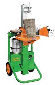 Holzspalter: Posch - SplitMaster 30 TURBO auf Längsfahrwerk PZG-E15D