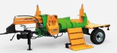 Holzspalter: Posch - SplitMaster 30 auf Längsfahrwerk E 7,5 D