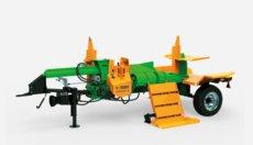 Holzspalter: Posch - SplitMaster 30 auf Längsfahrwerk PZG-E7,5D