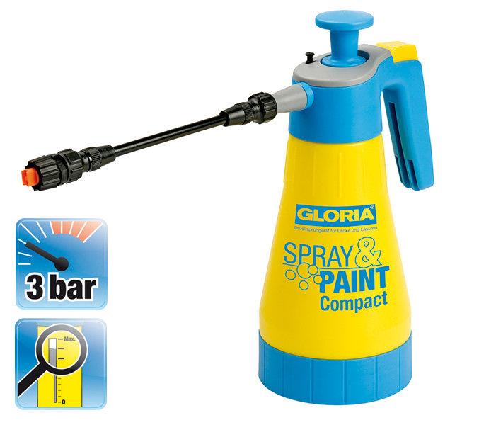 Sprühgeräte:                     Gloria - Spray&Paint Compact