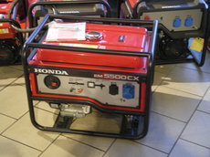Angebote  Stromerzeuger: Honda - Stromerzeuger EM 5500CX (Schnäppchen!)