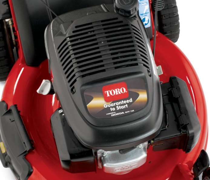 Premium Honda-Motor: Der Honda® Motor ist nicht nur leichter, geräuscharmer und leichter zu starten als die meisten anderen Motoren, sondern auch mit der obenliegenden Nockenwelle emissionsfreundlicher als ein konventioneller Seitenventilmotor.