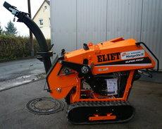 Holzhäcksler: Eliet - Mega Prof ON ROAD - 33 PS Kubota Turbodiesel