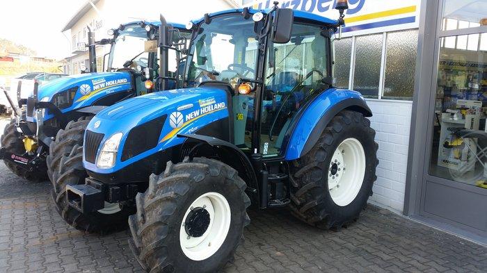 Allradtraktoren:                     New Holland - T4.55 Powerstar