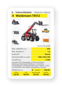 Teleskoplader: Weidemann - 6025 CC70