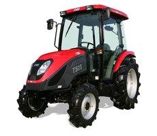 Kommunaltraktoren: TYM Traktoren - T503 Hydrostat mit Kabine