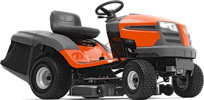 Gebrauchte                                          Gartentraktoren:                     Husqvarna - TC 138 Rasentraktor XXTra-VORTEIL Ausstellungs-Neumaschine & NICHT (gebraucht)