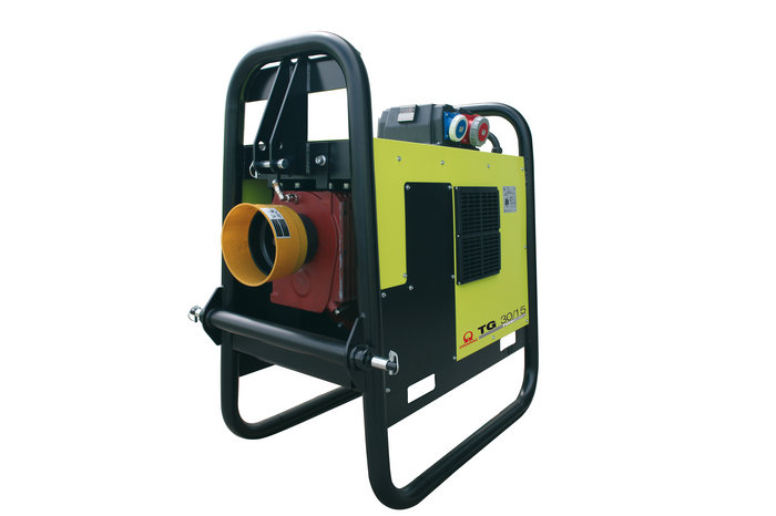 Stromerzeuger:                     Pramac - TG 42/15 (230V/400V)