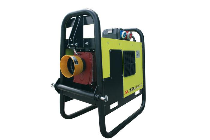 Stromerzeuger:                     Pramac - TG 62/15 (230V/400V)