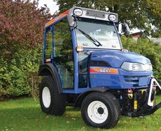 Kompakttraktoren: Iseki - TH 4295 AHL