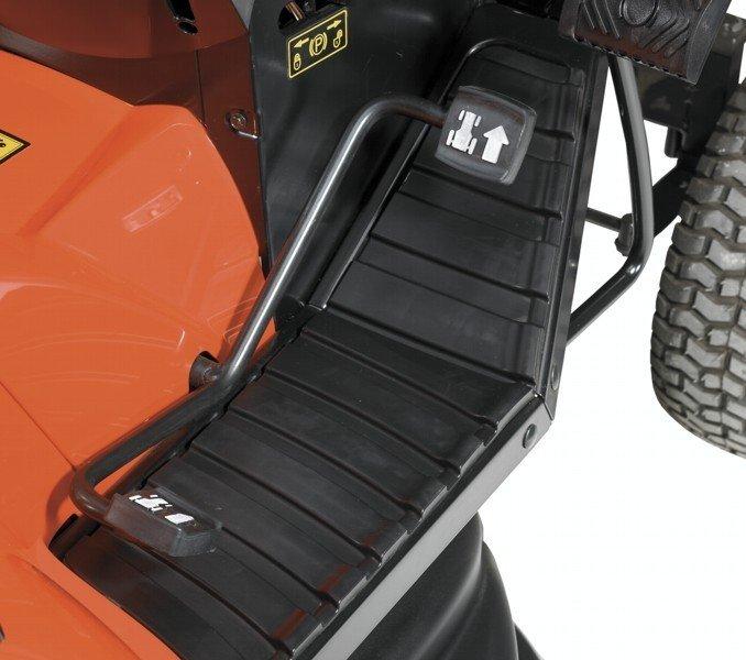 Hydrostatisches Automatikgetriebe - Fußpedalsteuerung