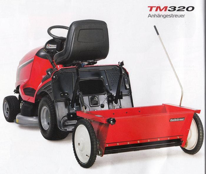 Anbaugeräte:                     Tielbürger - TM 320