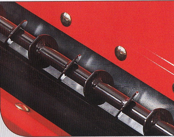 Rühr- und Förderwalze Effiziente Technik: Eine Walze, die gleichzeitig rührt und dosiert fördert.