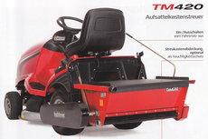 Anbaugeräte: Tielbürger - TM 420