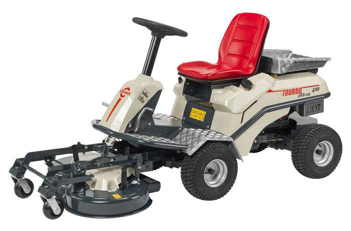 Gebrauchte                                          Frontmäher:                     Cramer - TOURNO pick-up (Grundgerät) 2WD (gebraucht)