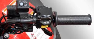 TraxLokTM Allradantrieb: Ebenfalls per Knopfdruck können die Vorderräder mit dem von Honda patentierten TraxLokTM Allradantrieb zugeschaltet werden.