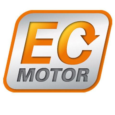 EC-Motor  Der elektronisch geregelte bürstenlose Elektromotor(EC) von STIHL arbeitet sehr energieeffizient und nahezu verschleißfrei. Dank des hohen Wirkungsgrades wird die Akku-Leistung in eine beeindruckende Arbeitsleistung umgesetzt. Die elektronische Steuerung überwacht den EC-Motor dabei permanent, erkennt Lastveränderungen während des Betriebs und sorgt dafür, dass sich der Motor stets in der optimalen Arbeitsdrehzahl befindet.