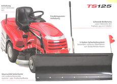 Gebrauchte  Anbaugeräte:  TIELBÜRGER - TS 125 Schneeräumschild Schneeschild+ gebraucht (gebraucht)