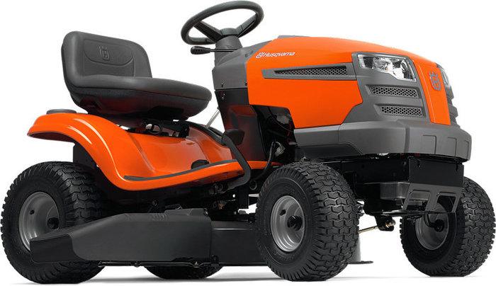 Gartentraktoren:                     Husqvarna - TS 138 - Agrassic-Hochgras-Traktor