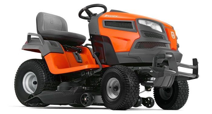 Gebrauchte                                          Gartentraktoren:                     Husqvarna - TS 342 Premium Rasentraktor (gebraucht)