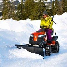 Angebote  Gartentraktoren: Husqvarna - TS 38 - Winterdienst SPEZIAL (Aktionsangebot!)