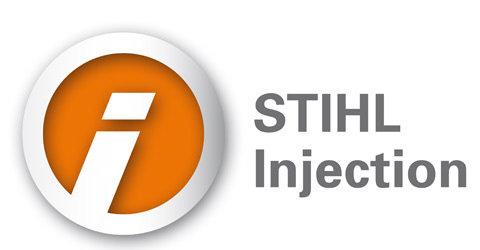 STIHL Injection (i)  Die elektronisch gesteuerte Einspritzung sorgt jederzeit für ein perfektes Laufverhalten und einen reduzierten Kraftstoffverbrauch im Vergleich zu Geräten ohne Einspritztechnik.