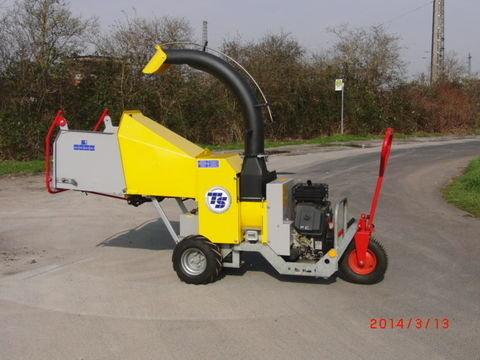 Gebrauchte                                          Kommunaltechnik:                     Tünnissen - TS GM10M Gardenmaster Holzzerkleinerer/ Häcksler  (gebraucht)