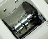 Hammerwerk-Gehäuse: Drei zusätzliche Schlagleisten sichern eine restlose Zerkleinerung.